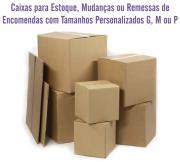 Caixas de Papelão - Tamanhos Personalizados