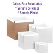 Caixas p/Sorvetes de Massa ou Palito - Tamanhos Personalizados