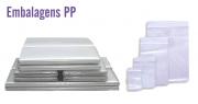 Embalagens PP Cristal - Tamanhos Personalizados