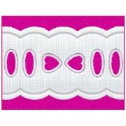 Passa Fita 2,3cm X 10m Branco 1011-103
