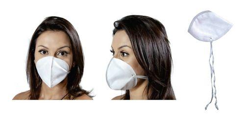 Mascara Descartavel TNT Branco Tipo N95 Com 1.000 Unidades  - Baby Sonic Aviamentos
