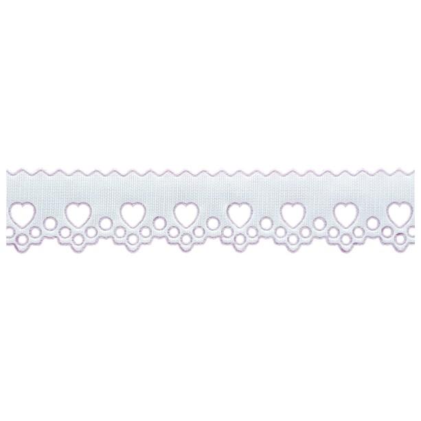 Bordado Inglês 2,1cm X 10m 1036-103 Branco