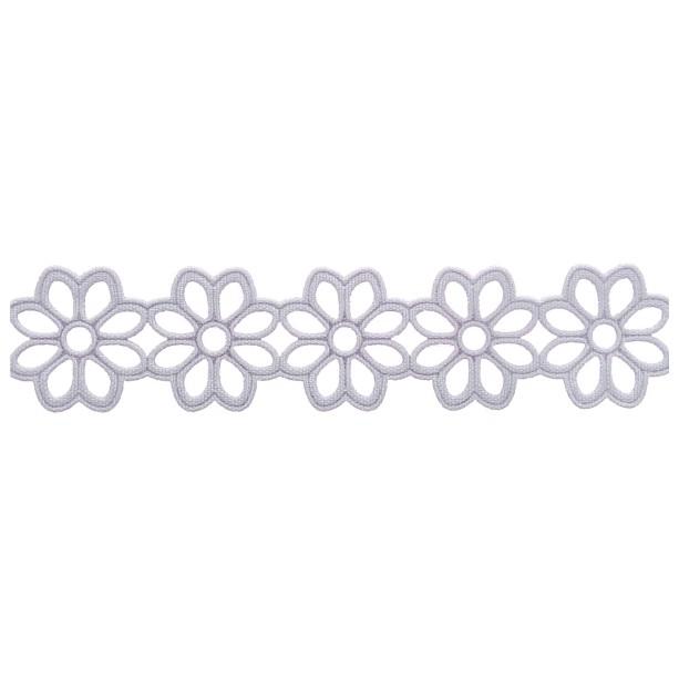 Aplicação Entremeio 2,3cm x 10m 1054-103 Branco