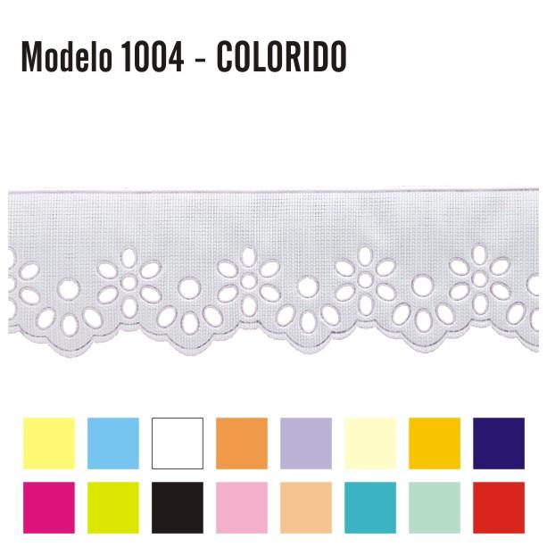 Bordado Inglês 3,2cm X 10m 1004 - Colorido