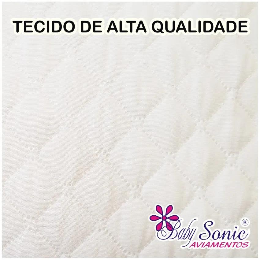 Capa De Colchão Impermeável Matelado Casal Queen Size 200 Fios  - Baby Sonic Aviamentos