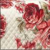 0188 Estampado Floral Vermelho