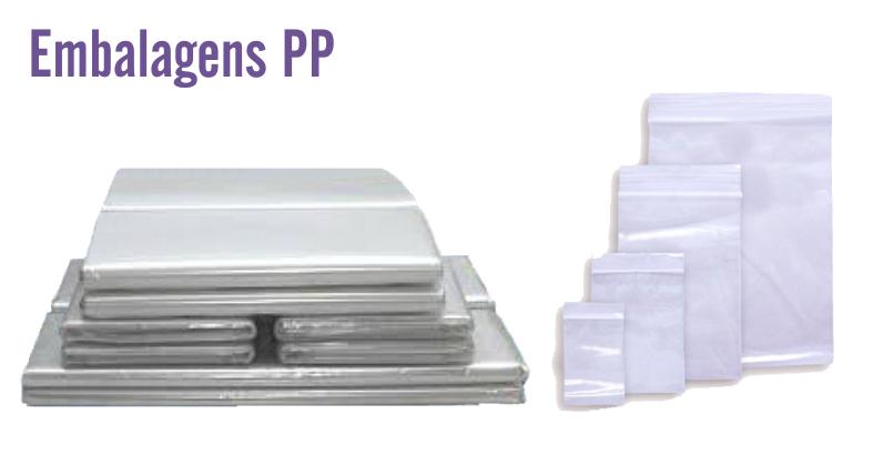 Embalagens PP Cristal - Tamanhos Personalizados  - Baby Sonic Aviamentos