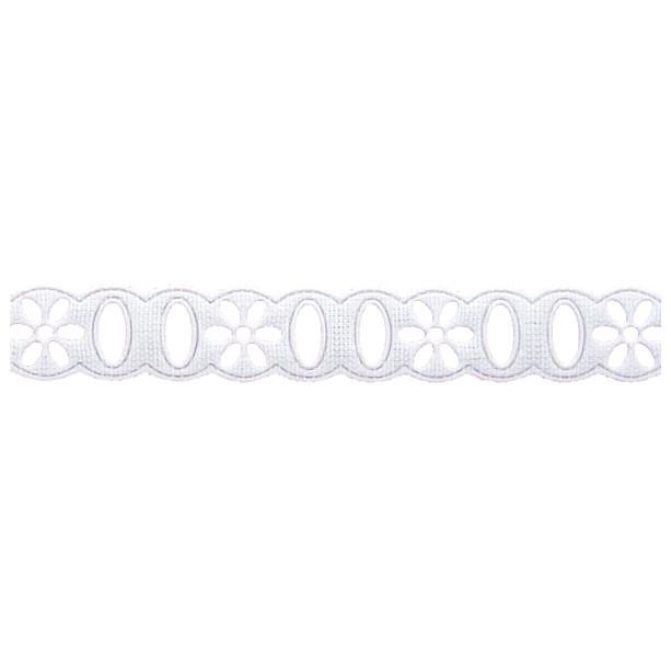 Passa Fita 1,2cm X 10m 1014-103 Branco