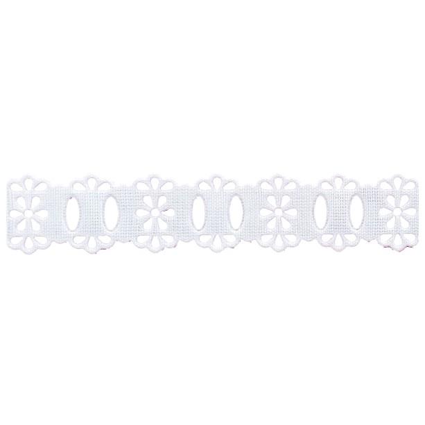 Passa Fita 1,8cm X 10m 1050-103 Branco
