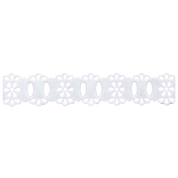 Passa Fita 1,8cm X 10m 1050-103 Branco - Kit 10 Unidades