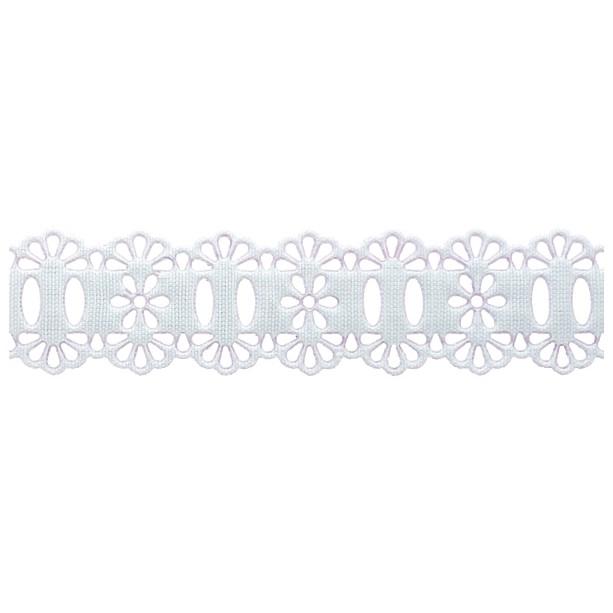 Passa Fita 2,3cm X 10m 1039-103 Branco - Kit 10 unidades