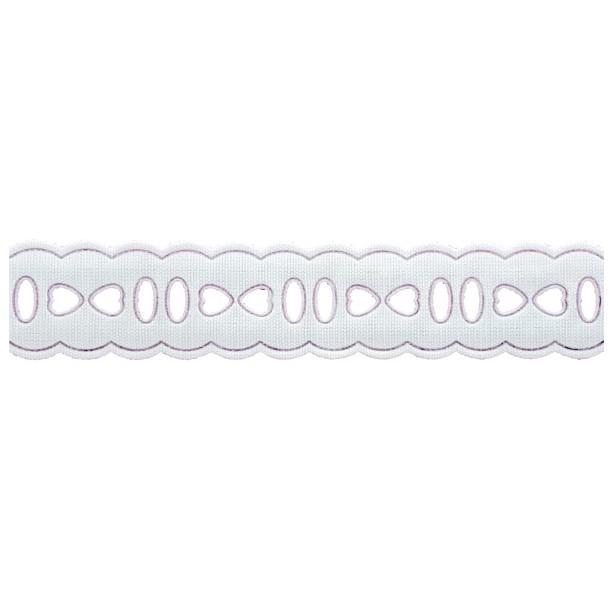 Passa Fita 2cm X 10m 1010-103 Branco