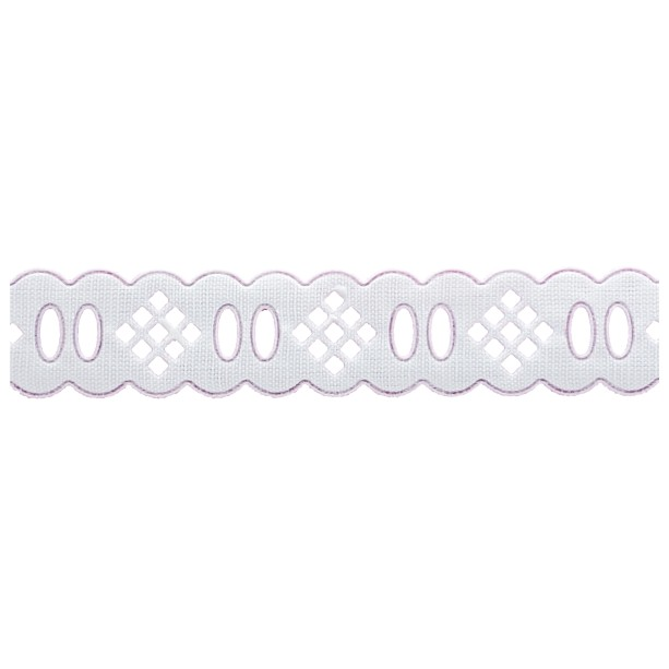 Passa Fita 2cm X 10m 1015-103 Branco - Kit 10 unidades