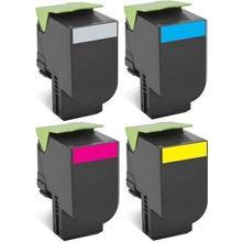 Toner Compatível com Lexmark [80C8XM0] CS510 Magenta 4.000 Páginas - Cartucho & Cia.