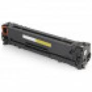 Toner Compatível com HPCE322A CE322AB 128A CP1525NW CM1415FN CP1525 CM1415  Yellow 1.400 Páginas Cartucho & Cia