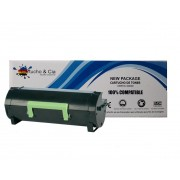 Toner compatível com Lexmark MS317 MS417 MS517 MS617 8.500 Páginas - Cartucho & Cia