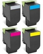 Toner Compatível com Lexmark [70C8HK0] CS510dn Black 8.000 Páginas - Cartucho & Cia.