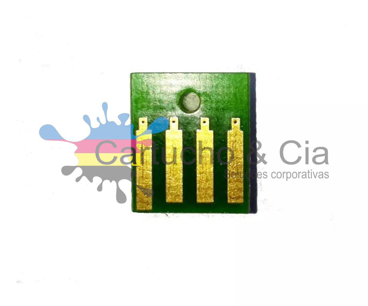 Chip para Lexmark [24D0021] MS817 MS818 Black 25.000 Páginas - Cartucho & Cia