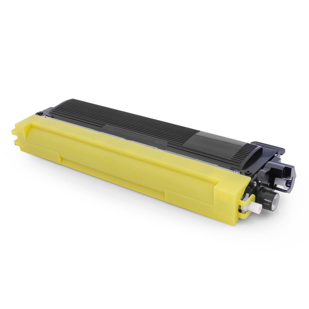 TONER COMPATÍVEL COM TONER BROTHER [TN210Y TN210] HL3040CN MFC9010CN MFC9320CW Yellow 1.400 Páginas - Cartucho & Cia