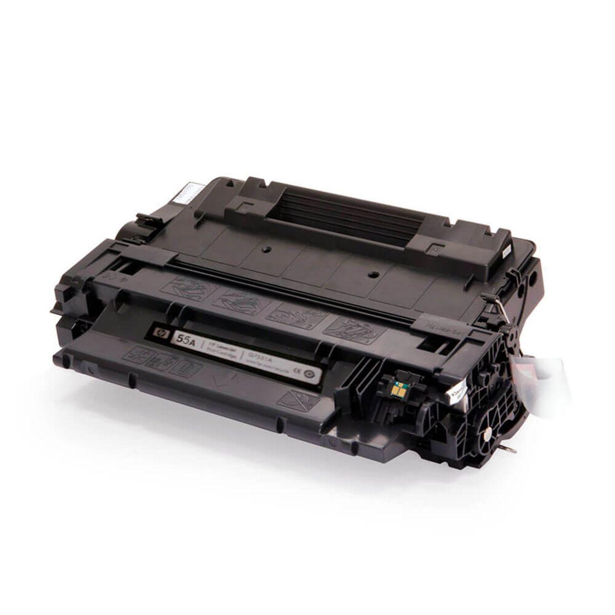 TONER COMPATÍVEL COM HP CE255A CE255AB P3015N P3015DN P3016 ENTERPRISE 500 M525F 6.000 Páginas - Cartucho & Cia
