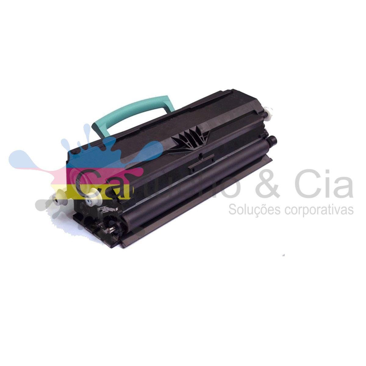 Toner compatível com LEXMARK E250 E350 E352 E352DN E250DN E250D E350D E250A11L 3.500 Páginas - Cartucho & Cia.