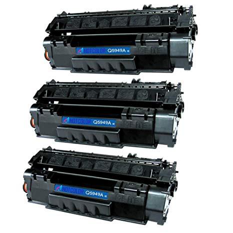 Toner compatível HP Q5949A 49A  2.500 Páginas - Cartucho & Cia