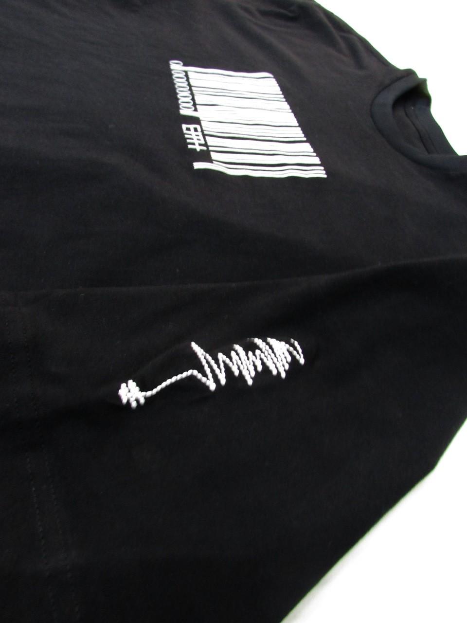 T-shirt  oversized barcode
