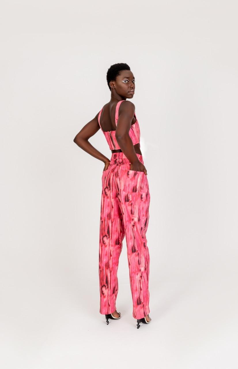 Calça - pink artsy