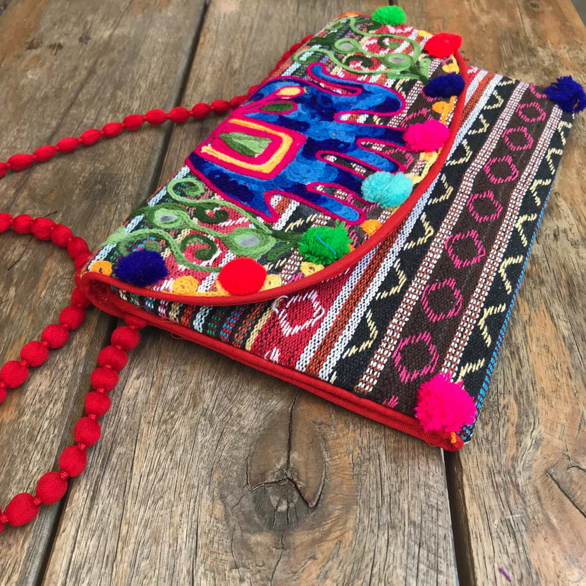 BOLSA INDIANA BOHO CHIC COLORIDA