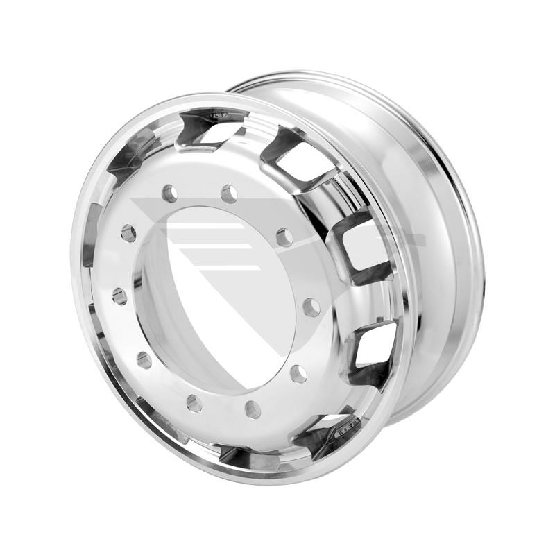 "Kit rodas de alumínio Italspeed Speedline aro 22,5"" x 8,25"" (10 furos)"