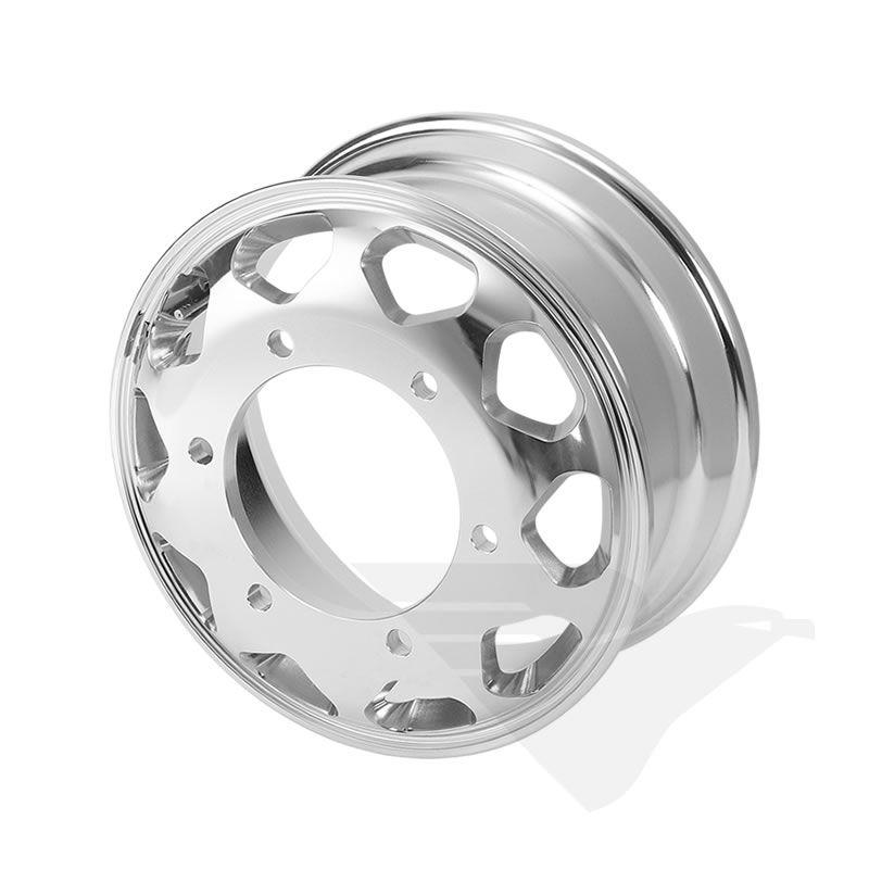Roda de alumínio aro 17,5 X 6,00 (6 furos) Accelo 715/815/915
