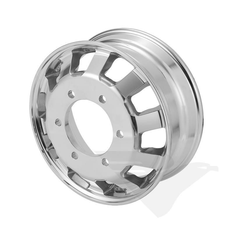 Roda de alumínio Italspeed aro 17,5 x 6,00 (6 furos) Iveco