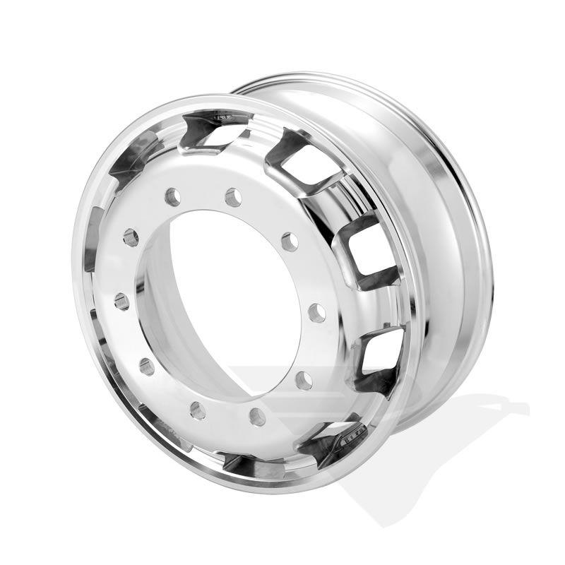 """Roda de alumínio Italspeed aro 22,5"""" x 8,25"""" (10 furos)"""
