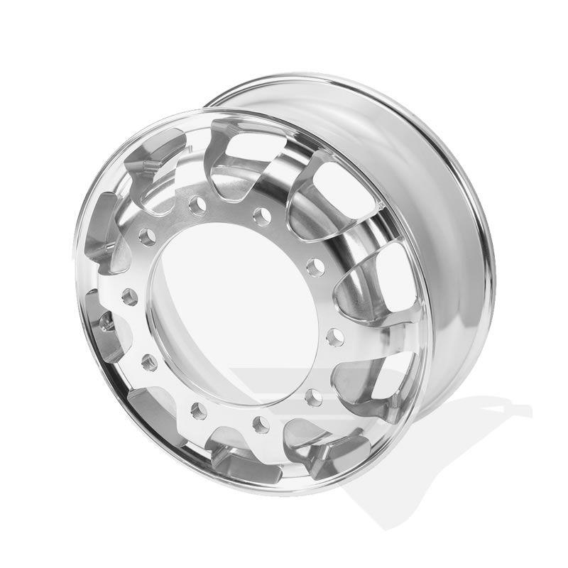 """Roda de alumínio Italspeed GT1 aro 22,5"""" x 8,25"""" (10 furos)"""