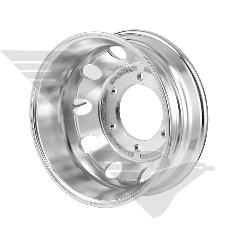 Roda de alumínio Italspeed Speedlite LT6 aro 17,5 x 6,00 (6 furos)