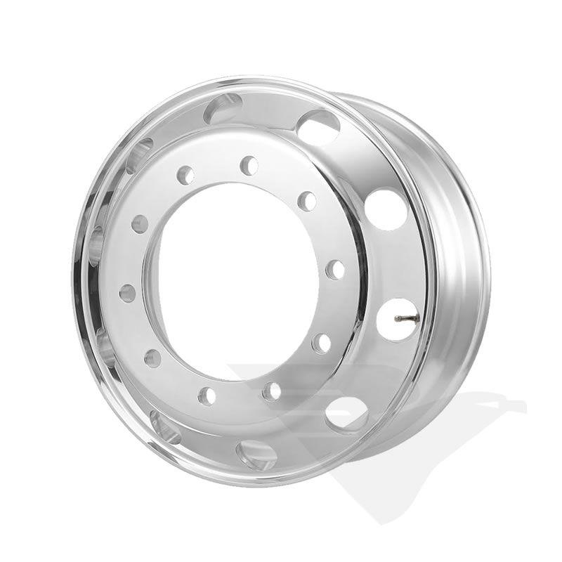 Roda de alumínio Roadline aro 22,5 x 8,25 Polimento externo
