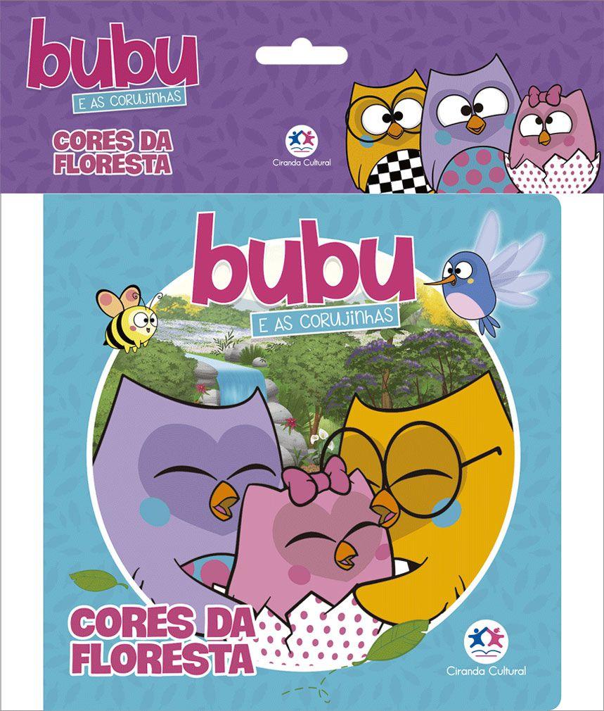Bubu e as Corujinhas - Cores da floresta