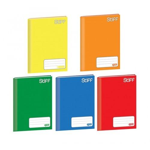 Caderno De Brochura Capa Dura Amarelo