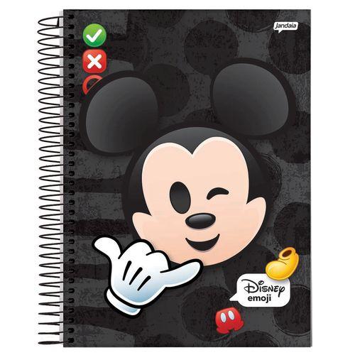 Caderno Universitário Espiral 80fls Emoji
