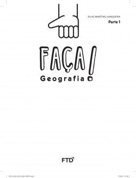 Conjunto Faça! Geografia - 1º Ano