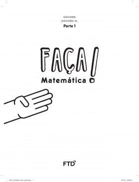 Conjunto Faça! Matemática - A Conquista - 4º Ano