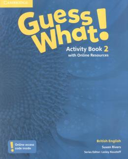 Guess What! 2 AB with online resources