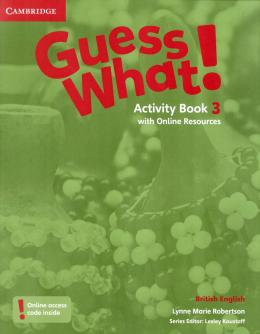 Guess What! 3 AB with online resources