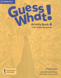 Guess What! 4 AB with online resources