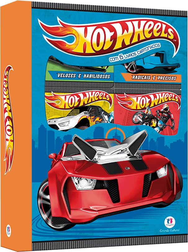 Hot Wheels - Box 6 Minilivros