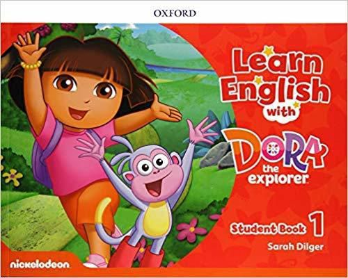 Learn English With Dora the Explorer Student Book 1