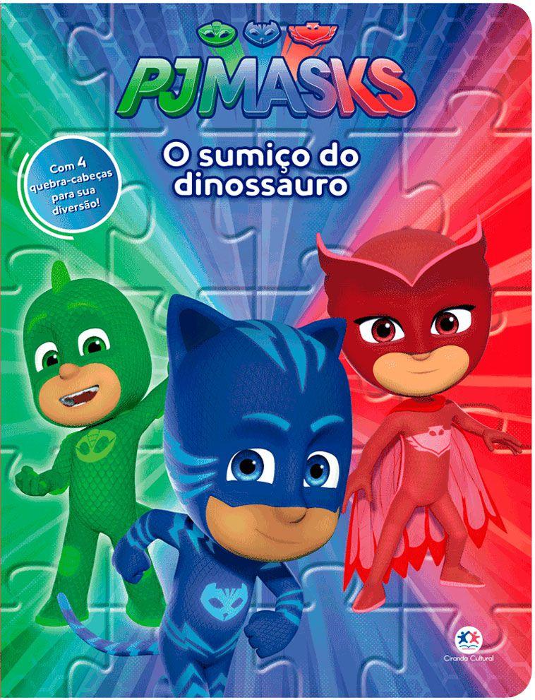 Pj Masks - O Sumiço Do Dinossauro