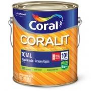 Coralit Secagem Rápida Acetinado Branco 3,6L