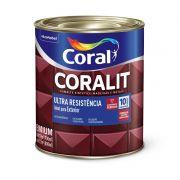 Coralit Ultra Alto Brilho Cinza Medio 0,9L