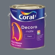 Decora Matte Fosco 3,6L Cor: Pó de grafite